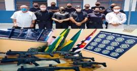 Guarda Civil de Santa Bárbara Realiza Curso de Capacitação para Uso de Armamento