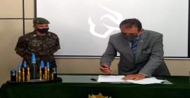 INAUGURAÇÃO: Pavilhão de Instrução de Armamento da AMAN
