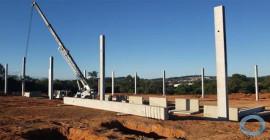 Taurus - Obra de ampliação avança e novos pavilhões já começaram a ser erguidos