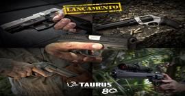 Taurus lança no Brasil novos modelos de revólveres e pistolas