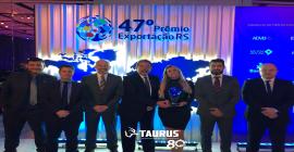 Taurus ganha Prêmio Exportação RS