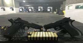 A disparada das armas