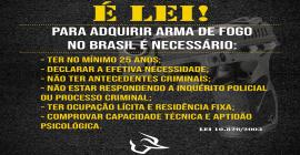 Com onda Bolsonaro, empresa divulga registro de armas para 'proteger família'