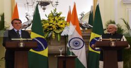 Durante visita de Bolsonaro à Índia, Taurus assina joint-venture com grupo indiano