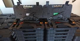 Taurus entrega armas para Guarda Municipal de Vitória (ES)