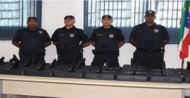 Para trazer mais segurança, GCM recebe treinamento e armas em Pindamonhangaba