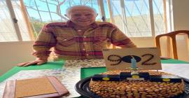 Homenagem aos 92 anos de Edmar Viana de Salles; Um dos mais antigos atiradores esportivos em plena atividade