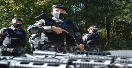 Brigada Militar de Passo Fundo recebe novas armas