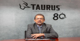 Vendas da Taurus aumentam no segundo trimestre