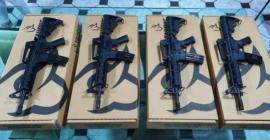 Polícia Militar recebe novos fuzis para reforçar a segurança de Blumenau