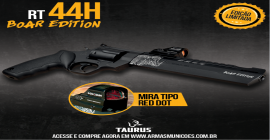Taurus lança edição especial e limitada do premiado revólver Raging Hunter RT44H