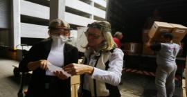 Hospitais de Clínicas e Conceição recebem 3 mil protetores faciais