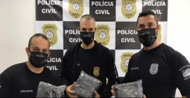 Polícia Civil recebe mais 1800 máscaras do Instituto Cultural Floresta