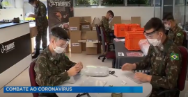Combate ao Coronavírus: fábrica de armas vai produzir máscaras de proteção