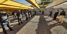 PRF capacita guardas civis metropolitanos para uso de pistolas .40 em Campo Grande (MS)