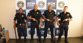 Agentes da GCM participam de curso de Manuseio de Arma de Fogo