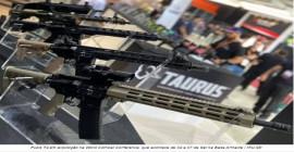 Taurus prepara o lançamento de novas armas táticas para ocupar nichos mundiais
