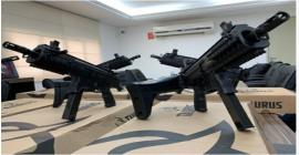 Seris entrega 20 novas carabinas Taurus CTT40 à Polícia Penal de Alagoas