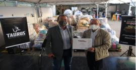 Taurus arrecada quase cem toneladas em campanha Solidariedade em Dobro