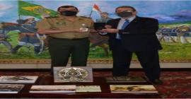 CEO Global da Taurus é recebido pelo comandante do Exército Brasileiro