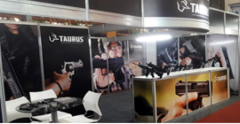 Taurus participa do Texas Expo & Tiro, em Santa Catarina