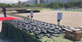 Gabinete de Intervenção Federal entrega armas e munições aos órgãos de segurança do Estado