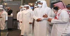 Estande da Taurus foi o único brasileiro visitado pelo Emir do Qatar