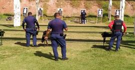 GCMs de Taboão da Serra fazem treinamento para uso de armas de alta potência