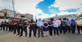 Nova Base da GCM do Marabá é entregue pela Prefeitura de Taboão da Serra