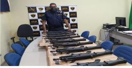 Guarda Civil de Piracicaba recebe novos armamentos